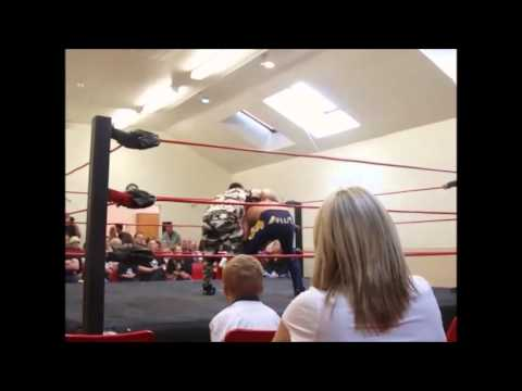 BAWF Living in Sin 2013 Main Event - BAWF Title Match - 'The Saint' Nath St Paul vs Bullit