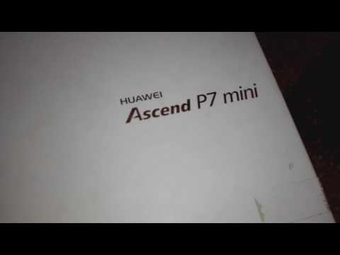 UNBOXING | huawei ascend p7 mini