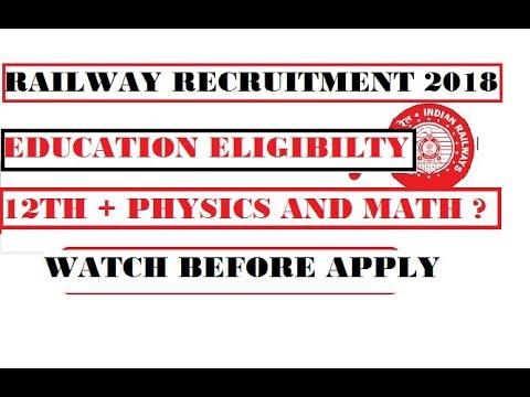 Eligibility Criteria Railway Loco Pilot Amp Technician