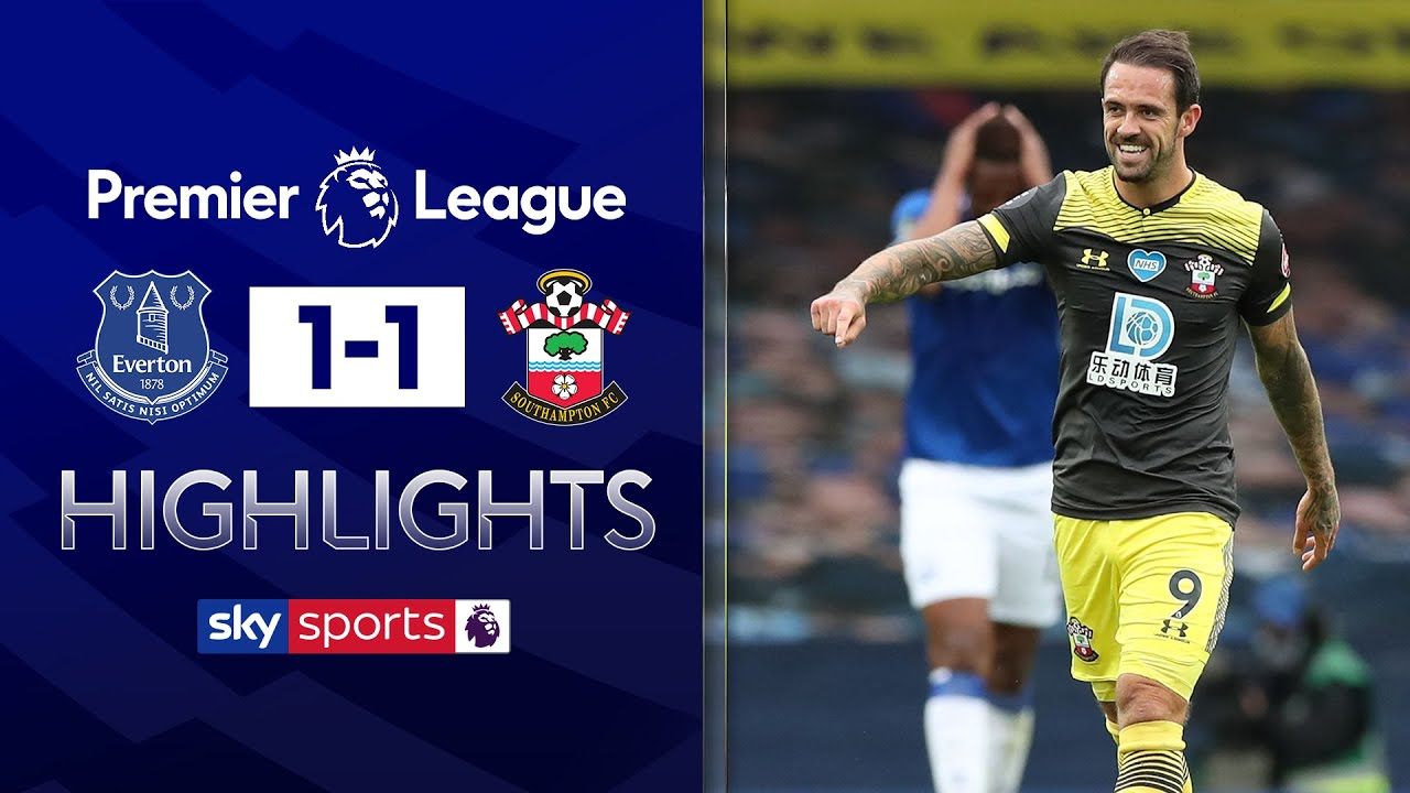 Ings bags 19th goal of the season in 1-1 draw | Everton 1-1 Southampton | EPL highlights