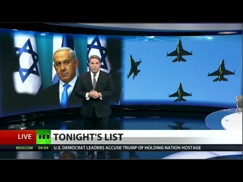 Israel uses human shields to attack Syria