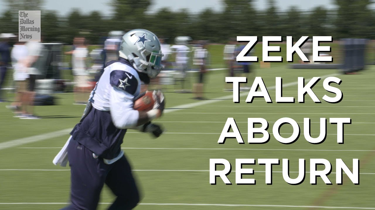 Source: Cowboys RB Ezekiel Elliott ends holdout, agrees to 6