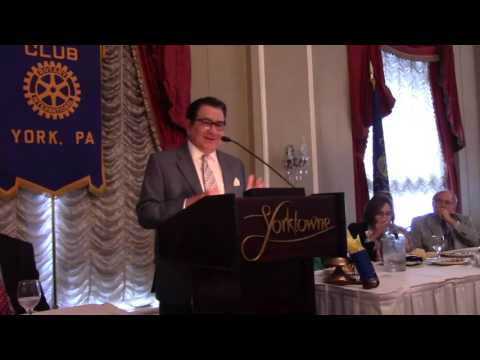 G. Terry Madonna, Government Trends, Rotary Club of York, PA, Meeting 10/7/2015