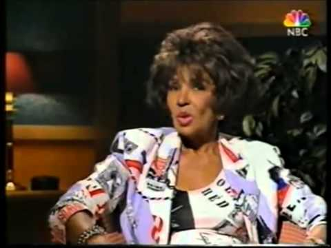Dame Shirley Bassey 1997 Interview