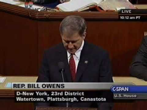 Welcome Congressman Bill Owens