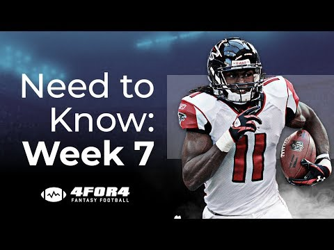 Fantasy Football Week 7: Everything You Need to Know