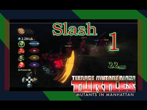 Teenage Mutant Ninja Turtles Mutants in Manhattan Walkthrough Gameplay Part 1 [Slash]