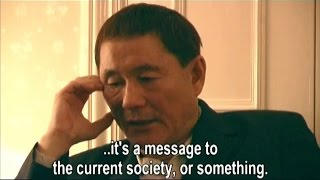 Interview w/ Takeshi Kitano + Making of Zatoichi