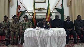 Zimbabwe : le président Robert Mugabe ne renonce pas au pouvoir