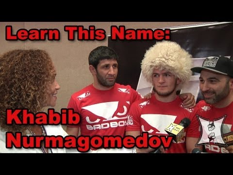 Khabib Nurmagomedov on UFC 160 Win Over Trujillo, Training at AKA with Cain