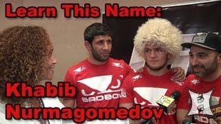 Khabib Nurmagomedov on UFC 160 Win Over Trujillo, Training at AKA with Cain