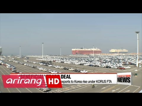 40 out of 50 U.S. states see exports to Korea rise after KORUS FTA;