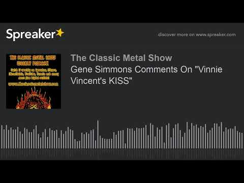 "HARD ROCK - Gene Simmons Comments On ""Vinnie Vincent's KISS"" 2018"