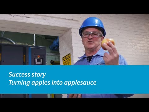 Atlas Copco ZR 90-160 VSD+ - Turning Apples Into Applesauce