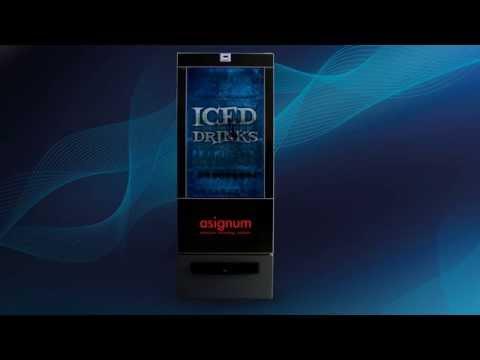 """asignum! // """"The BottleCooler"""" // IntellyFridge // Interactive Refridgerator"""