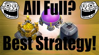 Clash of Clans - Farming strategy [Best farming strategy for town hall 8 & 9]