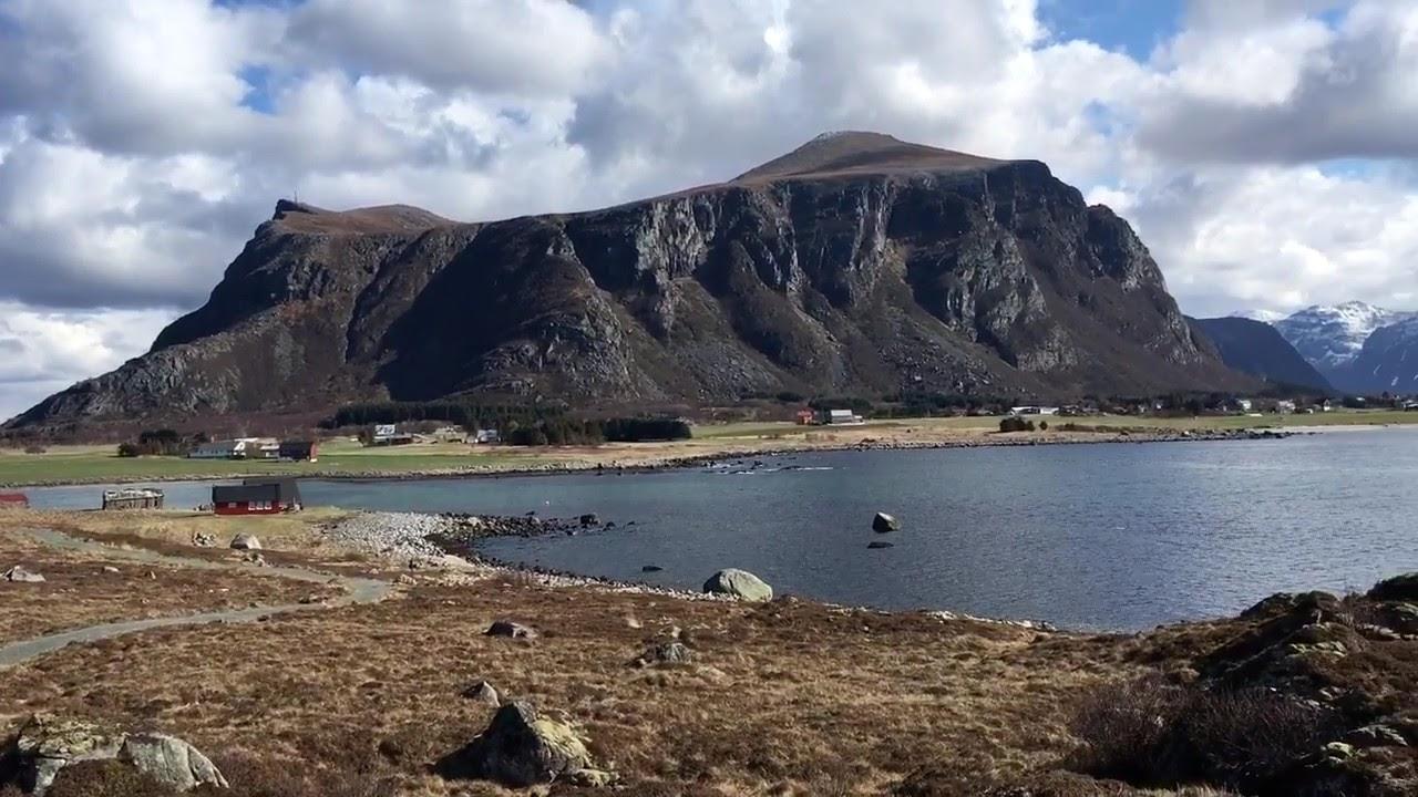 Beautiful places in Norway, Farstadsanden at Farstad, Fræna.