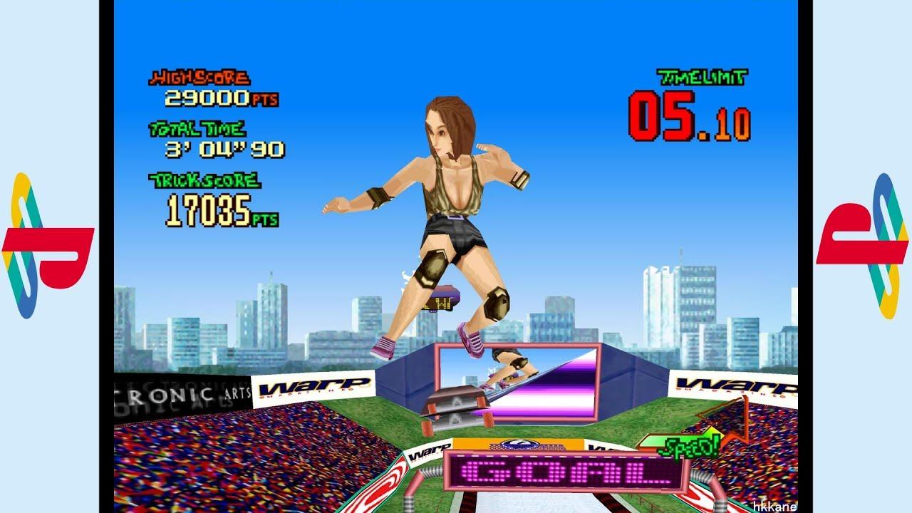 PS1 - Street Sk8er Gameplay