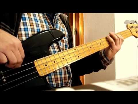 Led Zeppelin - Rock And Roll Bass Cover