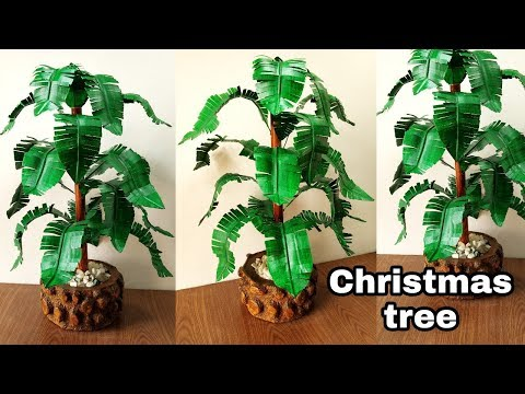How to make beautiful christmas tree at home very easy