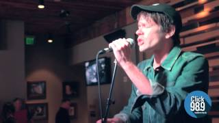 "Nate Ruess ""Great Big Storm"" Live at Click 98.9"