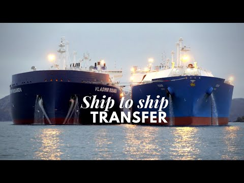 Liquefied Natural Gas (−260°F) | Ship to Ship Transfer