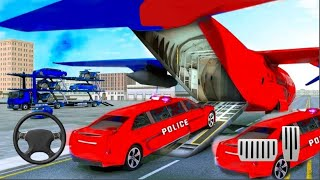 US Police Limo Car Transporter Truck 2019 Game - Android Gameplay #kids #androidgameplay screenshot 3