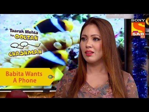 Your Favorite Character   Babita's Desperation For A New Phone   Taarak Mehta Ka Ooltah Chashmah thumbnail