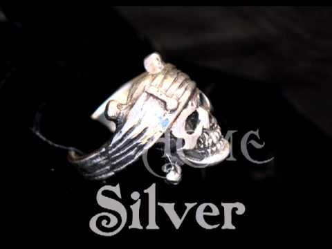 Johnny Depp Ring Skull