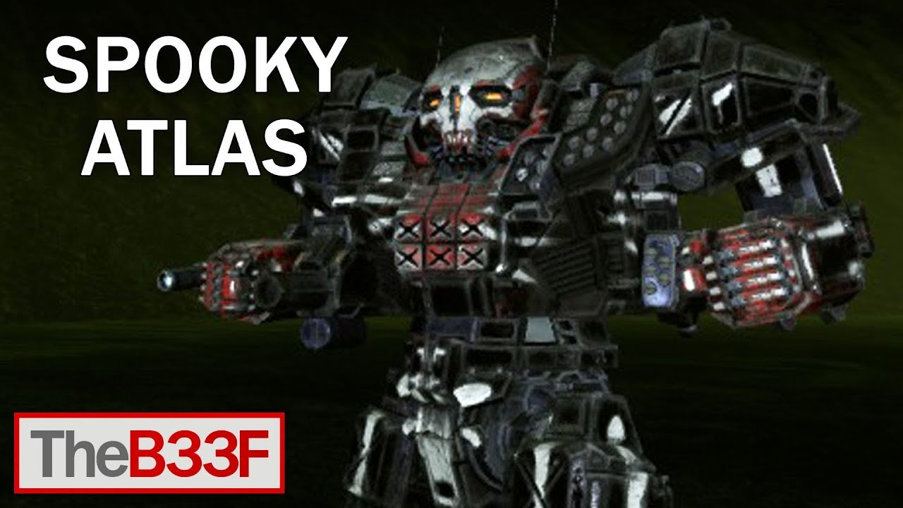 Theb33f Spooky Stealth Armor Mechwarrior Online Youtube