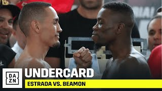Estrada vs. Beamon Undercard