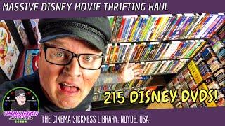 Massive Disney Movie Thrifting Haul | The Cinema Sickness Library: NOYDB, USA