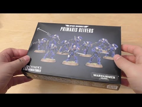 Primaris Reivers - Unboxing & First Look (WH40K)
