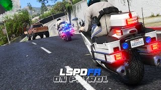 LSPDFR - Day 181 - Police Motorcycle Pursuit
