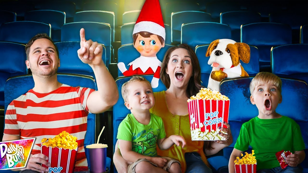 Download Our Elf Surprised Us with a Private Movie Party! 🎅🏻