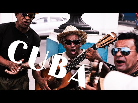 CUBA cinematic movie of traveling ,