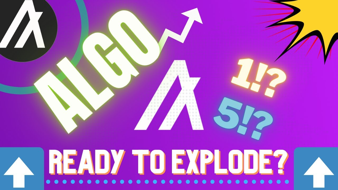IS ALGO [ALGORAND] ABOUT TO EXPLODE!? The Next Major DeFi Coin!? Cryptocurrency Analysis