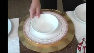 Table Talk - Charger Plates