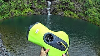 Drowned MAVIC PRO Search & Rescue with QySea Fifish P3 Underwater ROV