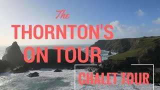 St Ives Holiday Village - Cornwall - Chalet Tour - Nature Walk-  Mar 17