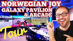 Norwegian Joy Galaxy Pavilion & Arcade Tour