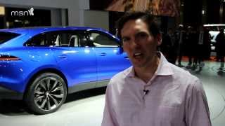 Jaguar C-X17 at the Frankfurt Motor Show 2013
