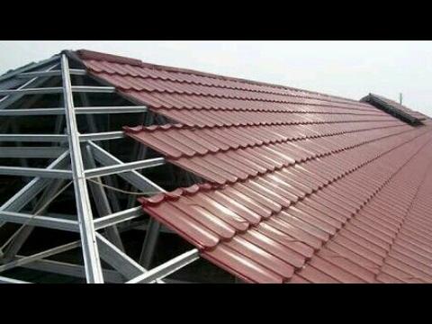 menghitung kebutuhan baja ringan atap jurai cara genteng rumah youtube