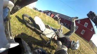 """Motocross Fight"" - ""Do not ride on my LAWN"" GoPro HD Hero 2"