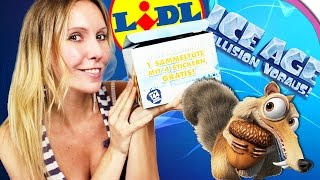 ICE AGE 5 Kollision voraus! Unboxing LIDL Sticker | 15 Booster Opening