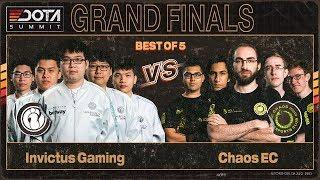 Invictus Gaming vs Chaos EC Game 1 - Dota Summit 11: GRAND FINALS