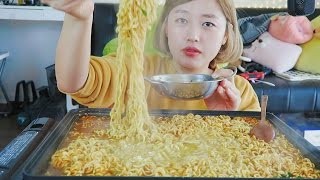 connectYoutube - How much Ramyun can I eat? Challenge