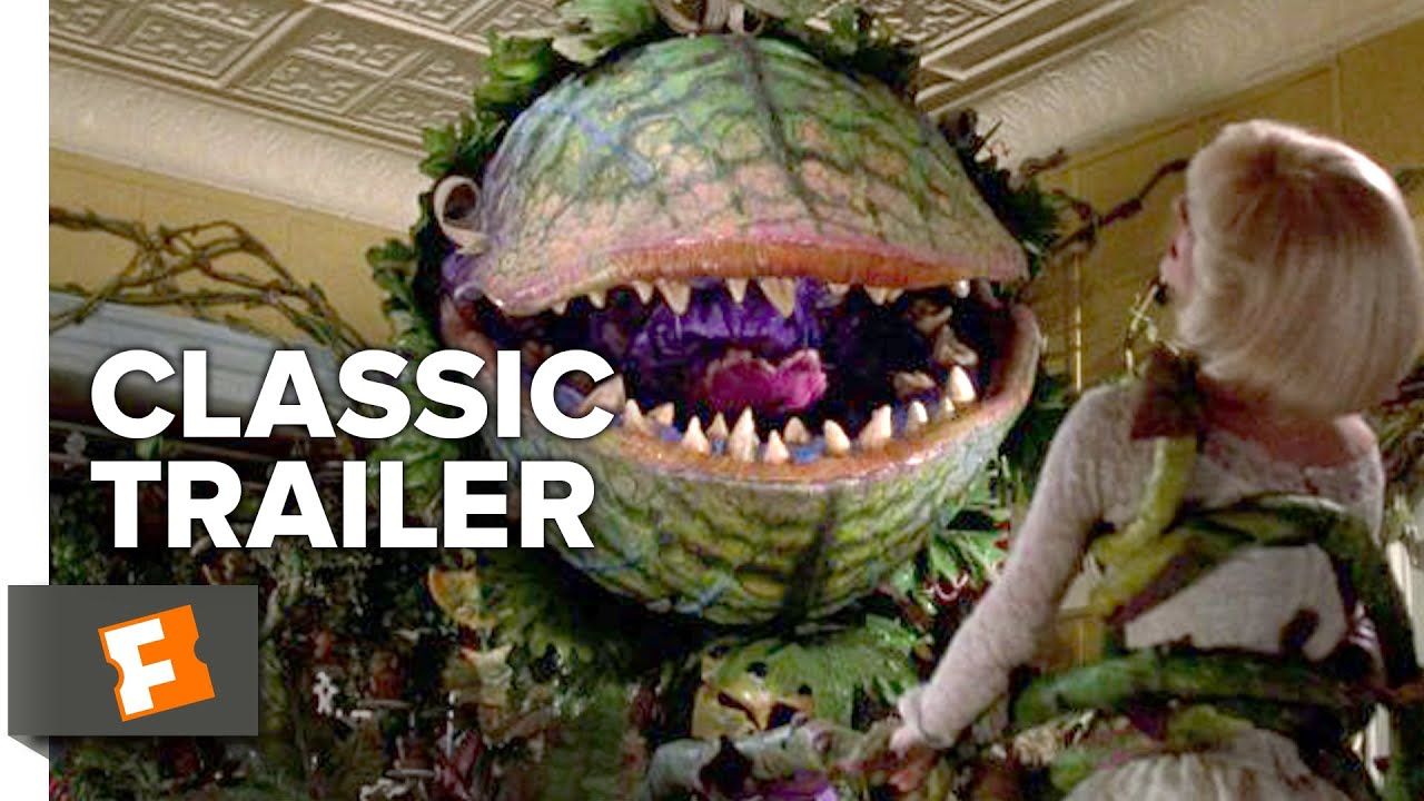 Little Shop Of Horrors 1986 Official Trailer Steve Martin Bill Flytrap Robots Can Hunt And Catch Bugs For Meals Murray Comedy Musical Hd Youtube