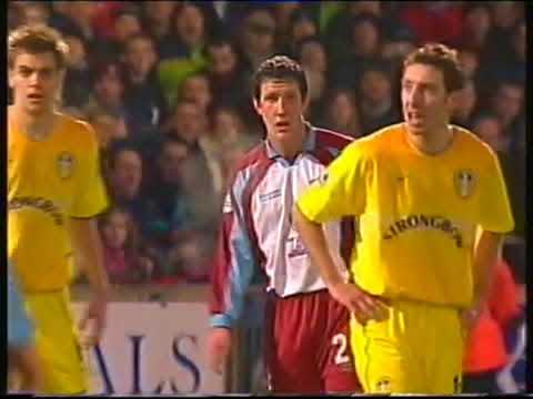 Scunthorpe United 0 Leeds United 2 FA Cup 3rd (4 Jan 2003)