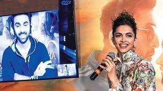 Who looks best with Deepika Padukone ? Ranbir Kapoor's SHOCKING REPLY!